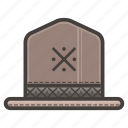 hat, ranger icon