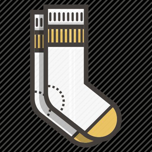 footwear, socks icon