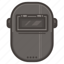 equipment, hat, protection, welder icon