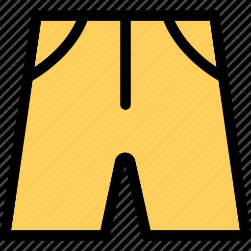 accessories, clothing, dress, fashion, half pant, man, woman icon