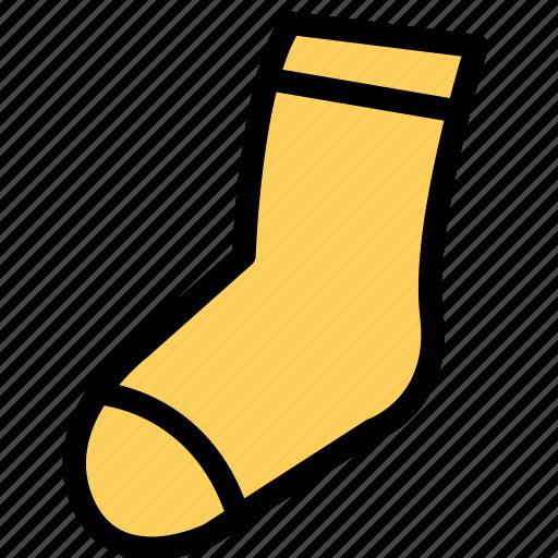accessories, clothing, dress, fashion, man, sock, woman icon