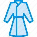 clothes, clothing, coat, dress, fashion, housecoat icon