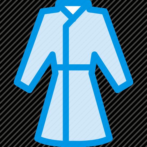 clothes, clothing, coat, dress, fashion, housecoat icon