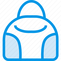 bag, clothes, clothing, dress, fashion, hand, shop icon