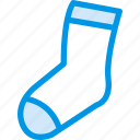 accessories, clothes, clothing, dress, fashion, socks icon
