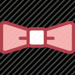 bow, clothing, dress, fashion, tie icon