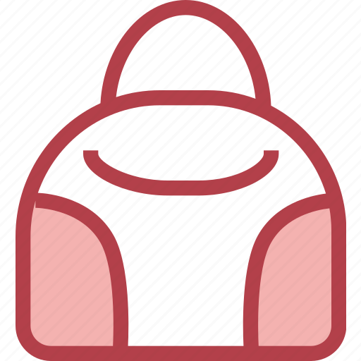 bag, clothing, dress, fashion, hand icon