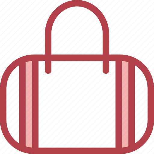 bag, clothing, dress, fashion, hand icon