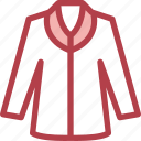 clothing, dress, fashion, jacket icon