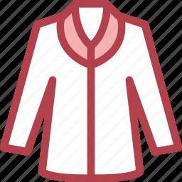 clothing, dress, fashion, jacket icon