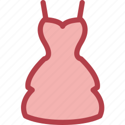 clothing, dress, fashion, party icon