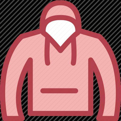 clothing, dress, fashion, hoodie icon