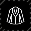 cloth, clothing, coat, dress, fashion, man, woman icon