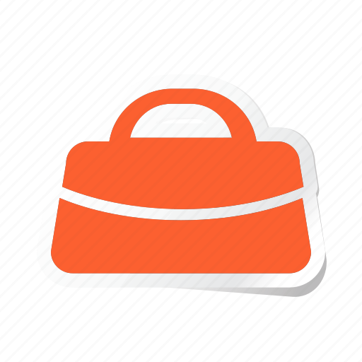 bag, clothes, clothing, dress, man, purse, woman icon