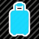 cloth, clothing, dress, fashion, woman, luggage, suitecase