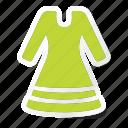 cloth, clothing, dress, fashion, long sleeve dress, man, woman icon