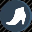 boot, cloth, clothing, dress, fashion, shoes, woman icon