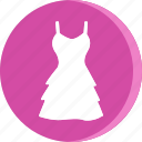 cloth, clothing, dress, female, girl, wear, woman icon