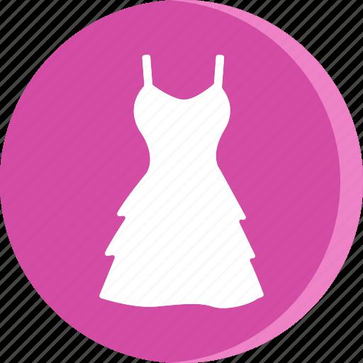 cloth, clothing, dress, female, girl, wear, woman icon