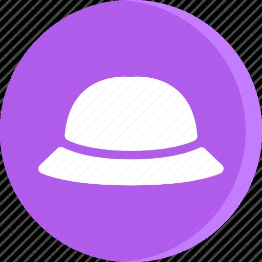 cloth, clothing, dress, fashion, female, hat, woman icon