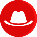 cloth, clothing, cowboy, fashion, hat, man, wear icon