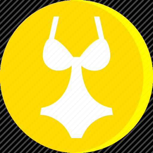 bikini, clothes, clothing, dress, fashion, female, woman icon
