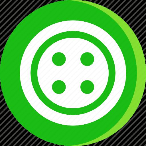cloth button, clothes, clothing, dress, dress button, shirt button, wear button icon
