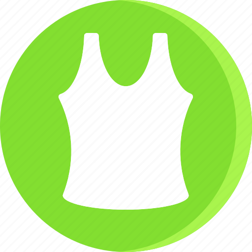 cloth, clothing, dress, female, girl, vest, woman icon