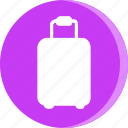 cloth, clothes, clothing, dress, luggage, suitecase, travel icon