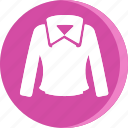 clothes, clothing, dress, fashion, female, shirt, woman icon