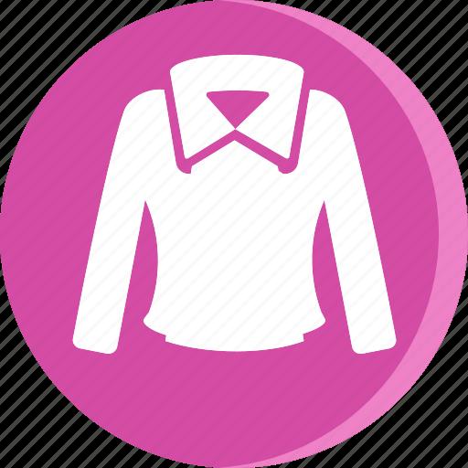 clothes, clothing, dress, fashion, female, shirt, woman icon