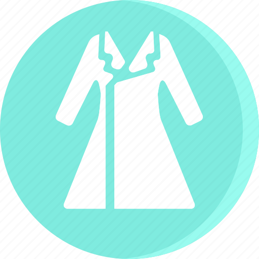 clothes, clothing, coat, dress, fashion, female, woman icon