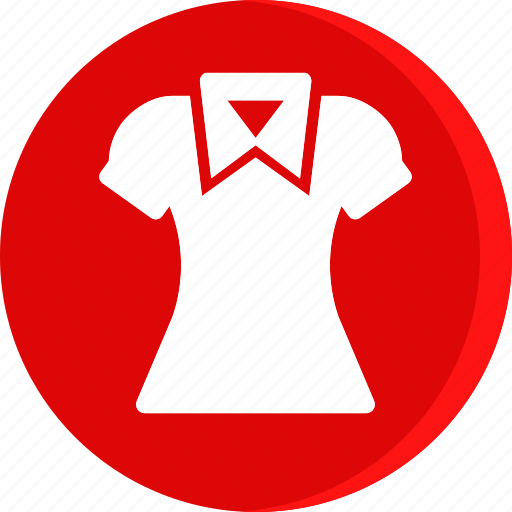 clothing, dress, girl, lady, shirt, wear, woman icon