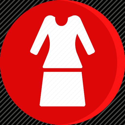clothes, clothing, dress, fashion, female, woman icon