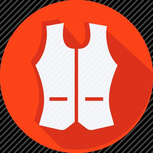 bag, clothes, clothing, dress, fashion, vest, woman icon