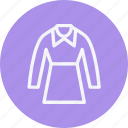 dress, long, sleeves icon