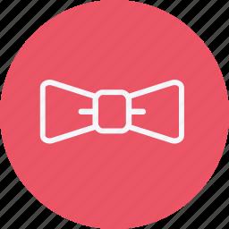 bow, businessman, fashion, necktie, party, style, tie icon
