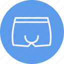 boxer, clothes, mens, shorts, swimwear, undergarments, underware icon