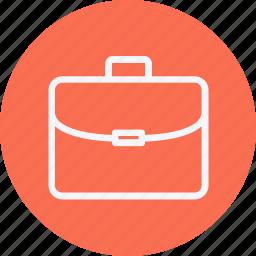 bag, brifcase, camping, hiking, luggage, suitcase, travel icon