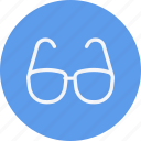 eye, eyeglasses, eyewear, glasses, goggles, virtual, vision icon