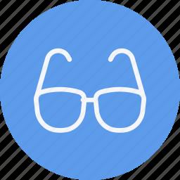 eye, eyeglasses, eyewear, glasses, goggles, virtual, vision icon