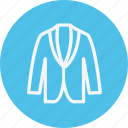 clothing, dress, fashion, jacket, shirt, style, wear icon