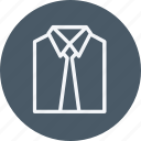 accesories, clothes, fashion, men, shirt, style, suit icon