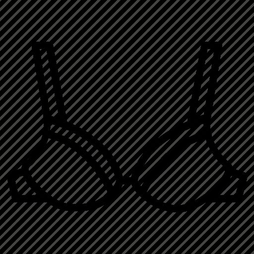 bra, cloth, garments, inner, under, wearing, women icon