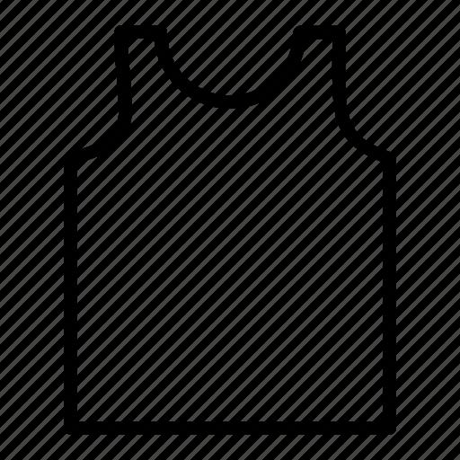 cloth, men, shirt, under, vest, wearing icon