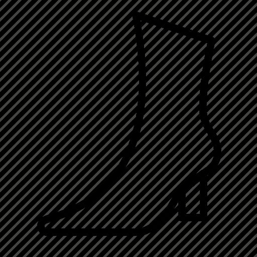 boots, dressing, fashion, footware, wearing, women icon