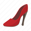 background, cartoon, fashion, female, glamour, high, shoe icon