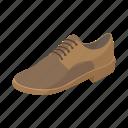 background, cartoon, clothing, elegance, leather, male, shoe icon