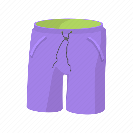 apparel, background, cartoon, clothes, long, men, shorts icon
