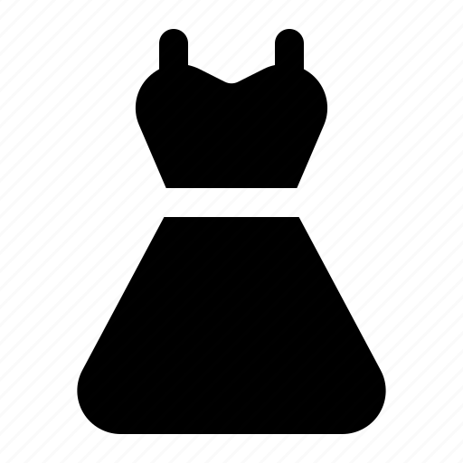 apparel, clothing, dress, outfit icon